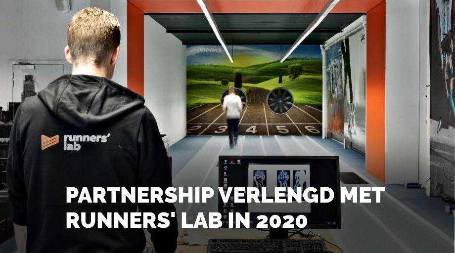 PARTNERSHIP VERLENGD MET RUNNERS' LAB IN 2020